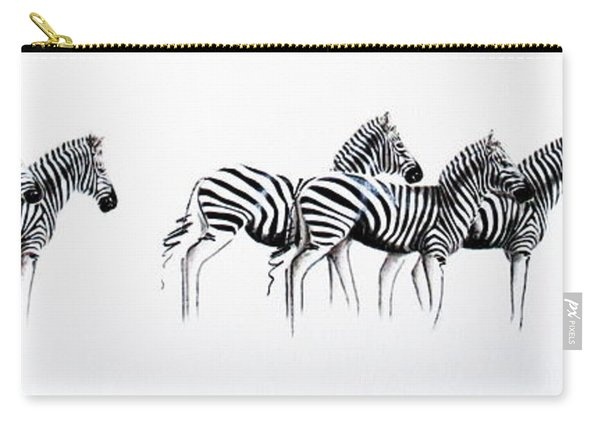 Zebrascape - Original Artwork Carry-all Pouch