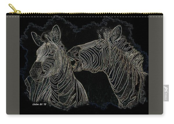 Zebrax2 Carry-all Pouch