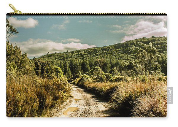 Zeehan Dirt Road Landscape Carry-all Pouch