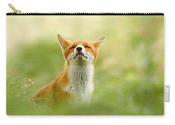 Zen Fox Series - Zen Fox Does It Agian Carry-all Pouch