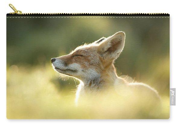Zen Fox Series - Zen Fox Up Close Carry-all Pouch