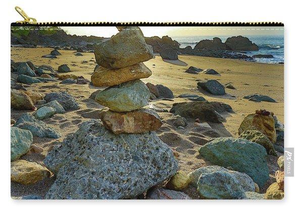 Zen Rock Balance Carry-all Pouch