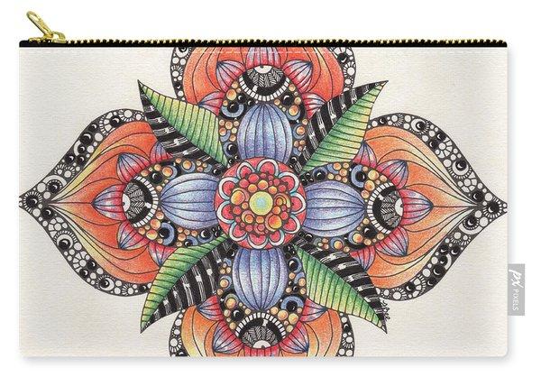 Zendala Template #1 Carry-all Pouch