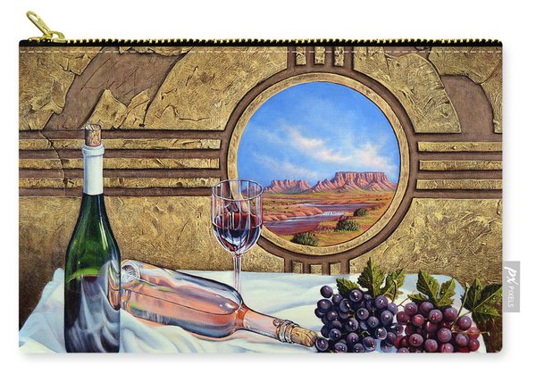 Zia Wine Carry-all Pouch