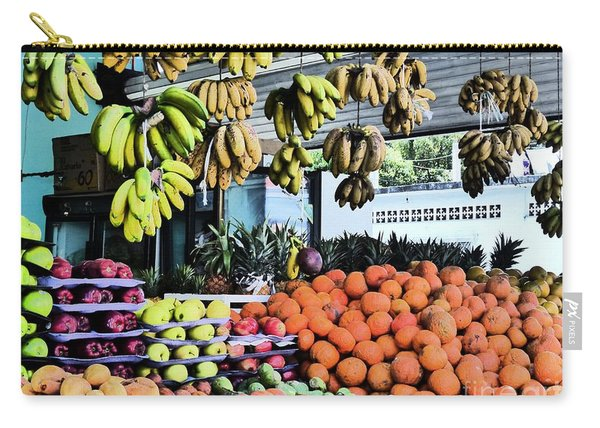 Zihuatanejo Market Carry-all Pouch