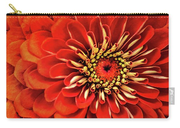 Zinnia-macro Carry-all Pouch