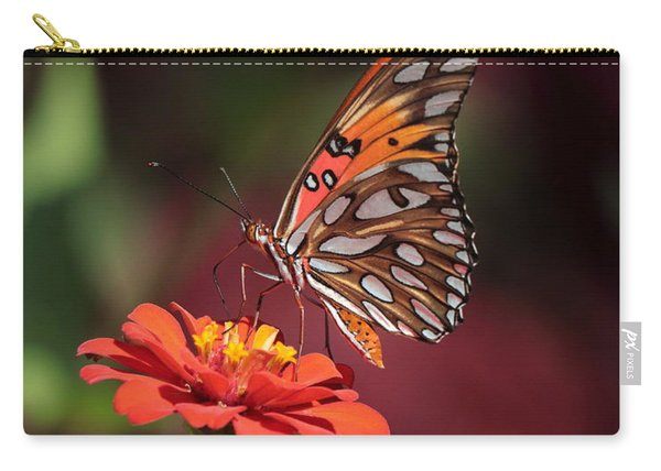 Zinnia With Butterfly 2668 Carry-all Pouch