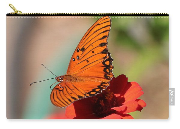 Zinnia With Butterfly 2669 Carry-all Pouch