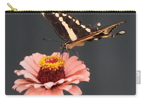 Zinnia With Butterfly 2702 Carry-all Pouch