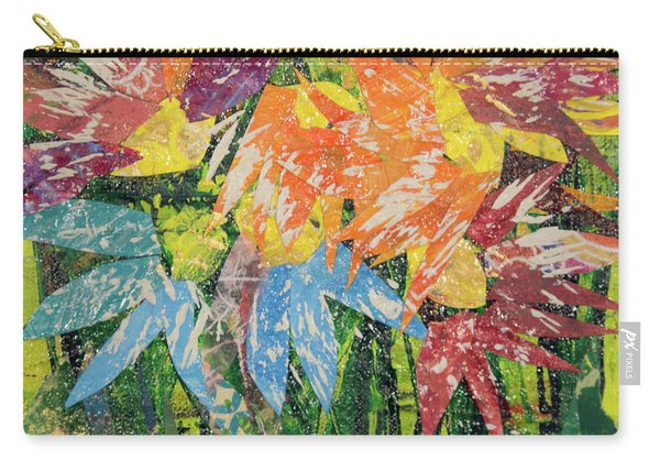Zinnias Gone Mad Carry-all Pouch