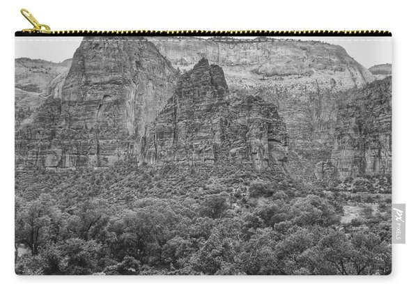 Zion Canyon Monochrome Carry-all Pouch