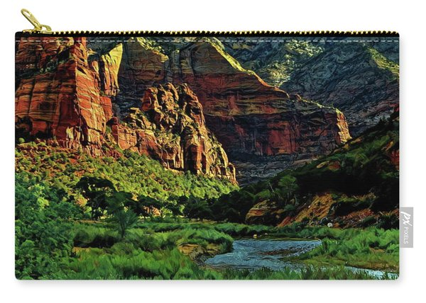 Zion Canyon River Carry-all Pouch