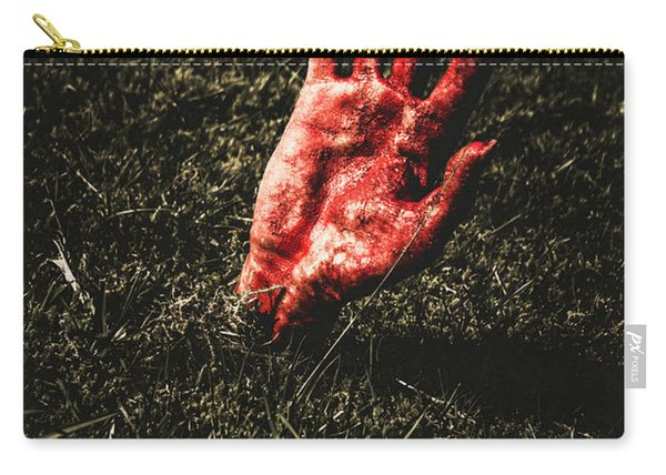 Zombie Rising From A Shallow Grave Carry-all Pouch