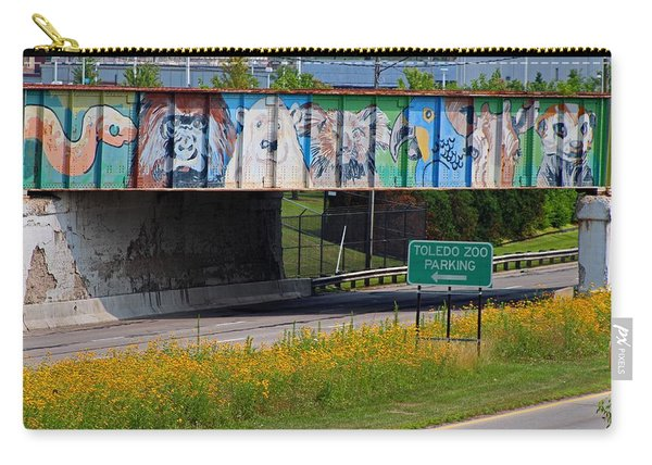 Zoo Mural Carry-all Pouch