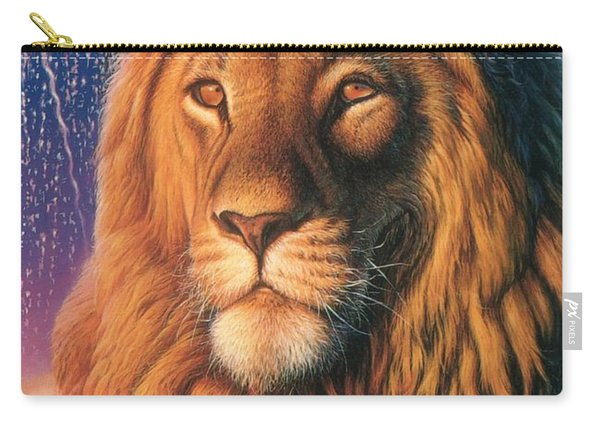 Zoofari Poster The Lion Carry-all Pouch