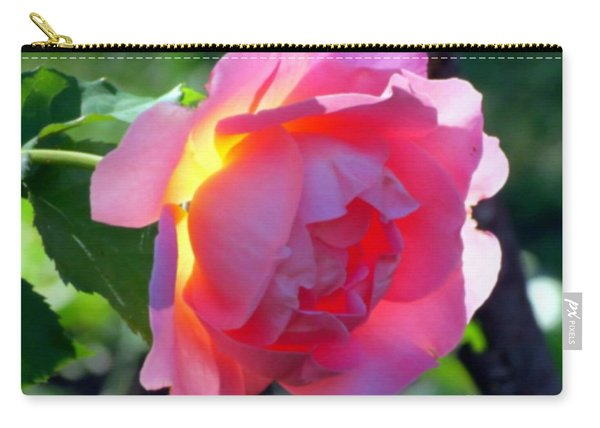 Zora's Garden Rose Carry-all Pouch