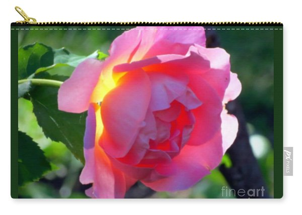 Zora's Garden Rose Carry-all Pouch