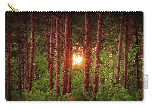 010 - Pine Sunset Carry-all Pouch