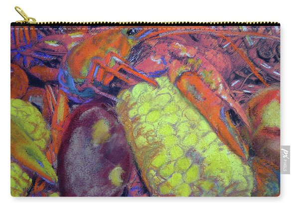 012419, Cajun Mud Bugs Carry-all Pouch