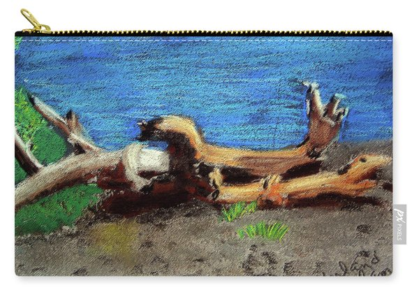 012519 Yellow Stone Lake Shore Carry-all Pouch