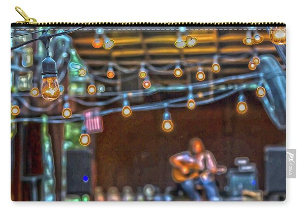 025 - Guitarist And Lights Carry-all Pouch