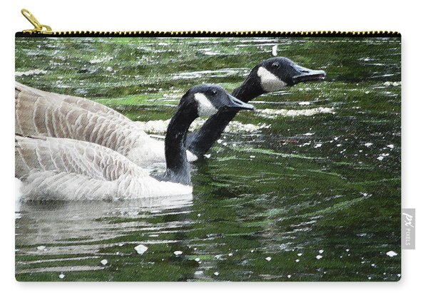 031619 Geese City Park New Orleans Carry-all Pouch