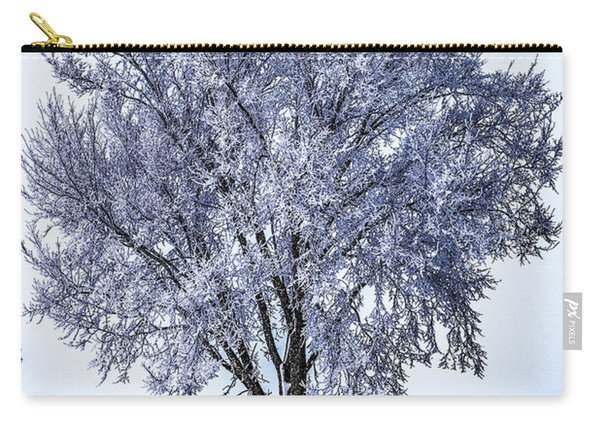 039 - Frosty Tree Carry-all Pouch