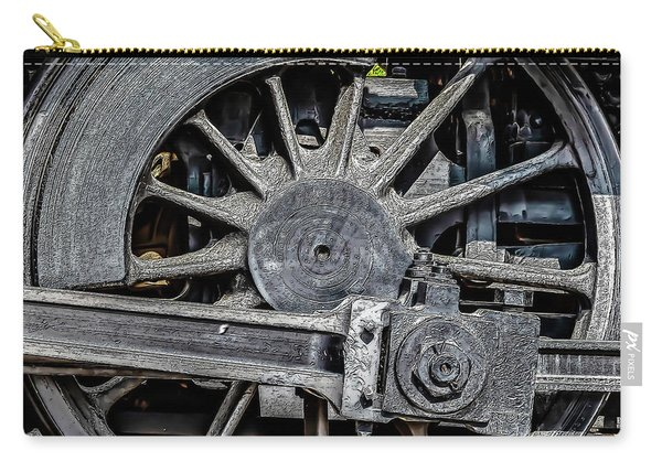 062 - Locomotive Wheel Carry-all Pouch
