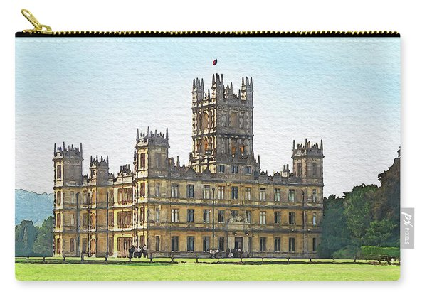 A View Of Highclere Castle Carry-all Pouch