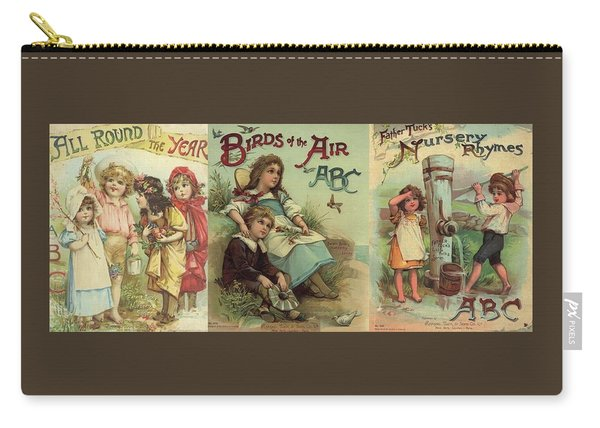 1 Abc Book Covers For Mugs Carry-all Pouch