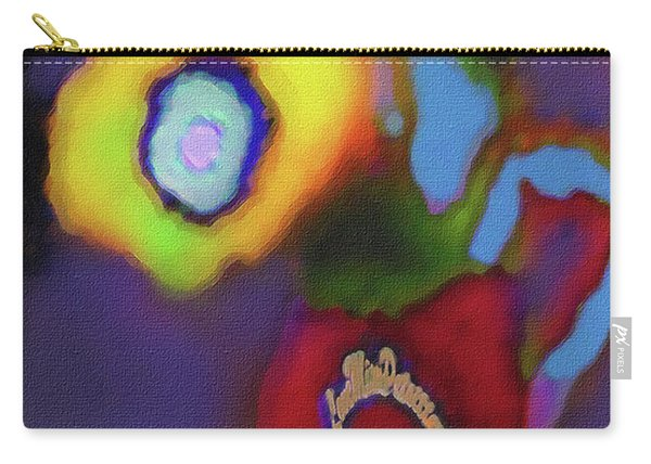 Abstract Floral Art 367 Carry-all Pouch