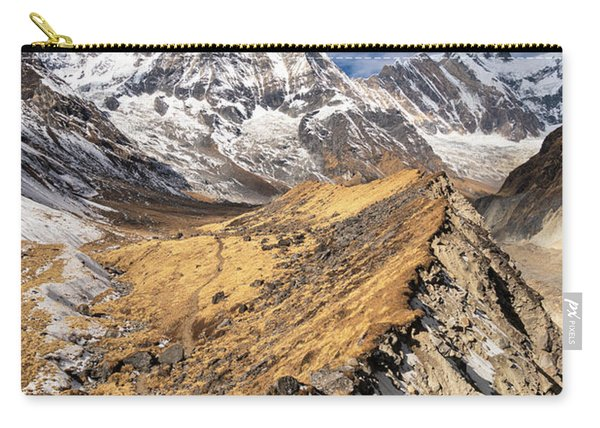 Annapurna South Peak In Nepal Carry-all Pouch