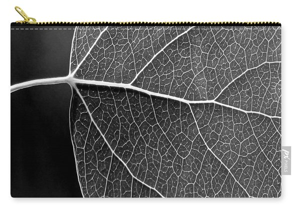 Aspen Leaf Veins Carry-all Pouch