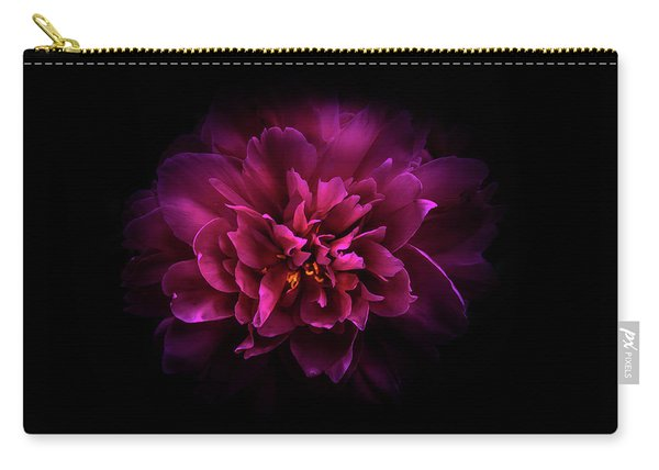 Backyard Flowers 55 Color Version Carry-all Pouch