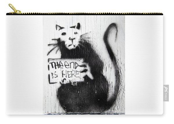 Banksy Rat The End Is Here Carry-all Pouch