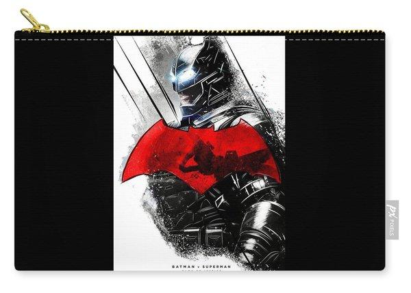 Batman Vs Superman Carry All Pouches Fine Art America