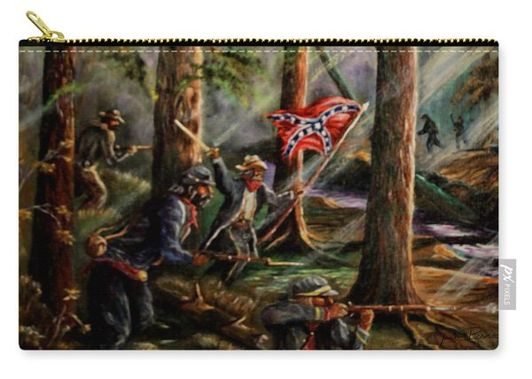 Battle Of Chancellorsville - The Wilderness Carry-all Pouch
