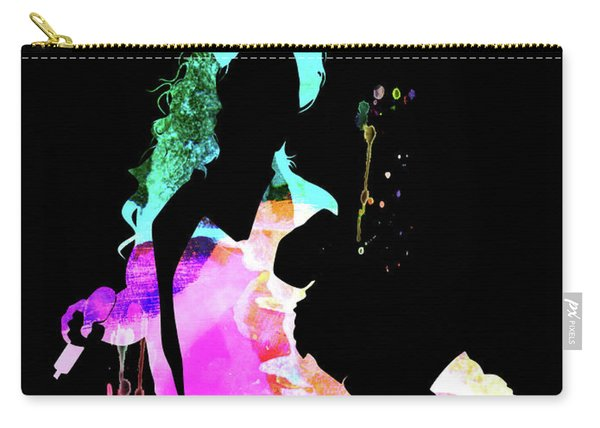 Beyonce Watercolor Carry-all Pouch