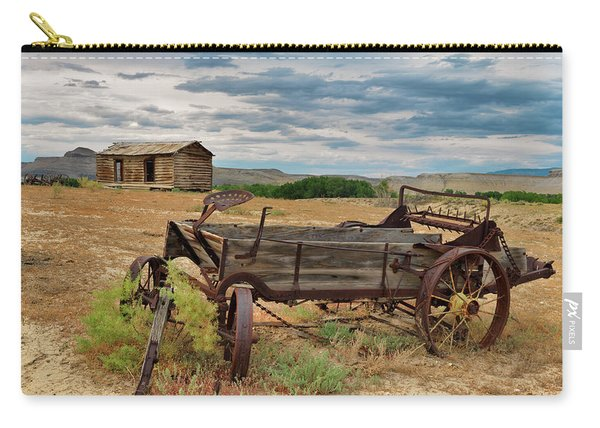 Bighorn Basin History Carry-all Pouch