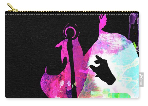 Billie Holiday Watercolor Carry-all Pouch