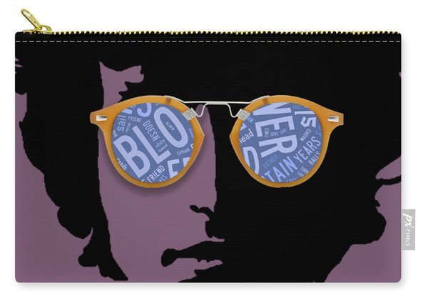 Blowin In The Wind Bob Dylan Carry-all Pouch