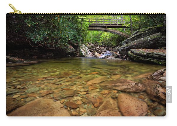 Boone Fork Bridge - Blue Ridge Parkway - North Carolina Carry-all Pouch
