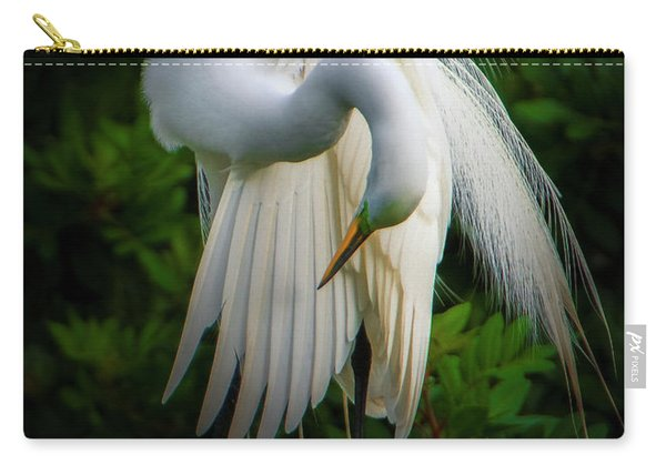 Breeding Plumage And Color Carry-all Pouch