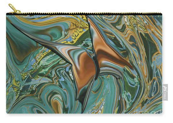 Bronze Butterfly Carry-all Pouch