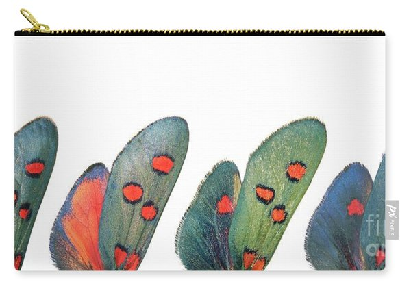 Burnet Moth Wings Carry-all Pouch