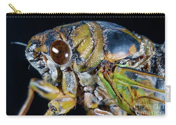 Closeup Macro Cicada Locust Carry-all Pouch