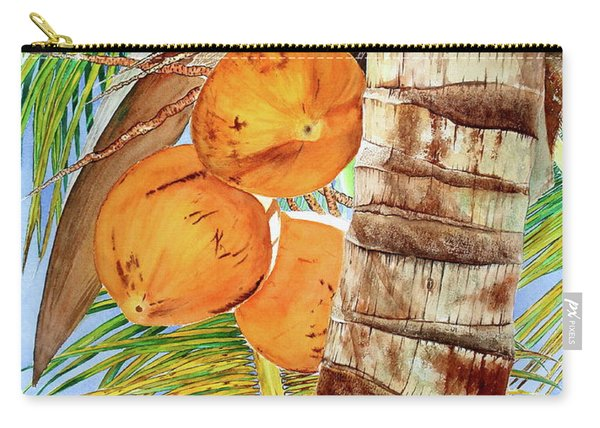 Coconut Tree Iv Carry-all Pouch