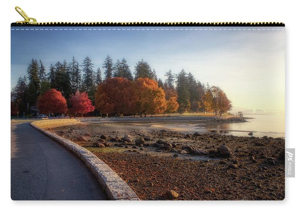 Colorful Autumn Foliage At Stanley Park Carry-all Pouch
