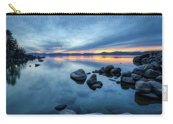 Colorful Sunset At Sand Harbor Carry-all Pouch