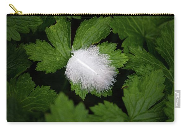 Colours. White Carry-all Pouch